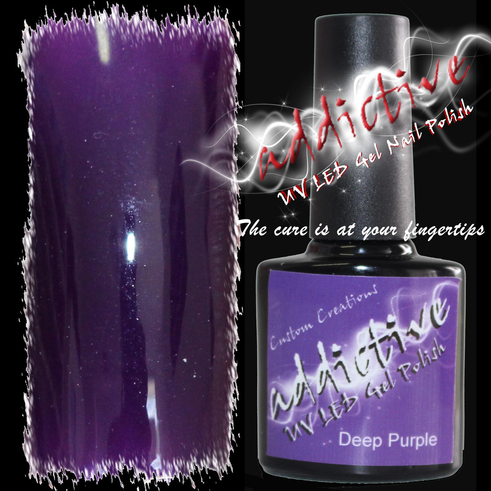Addictive UV LED Gel Nail Polish – Deep Purple « Simply Glamorous ...