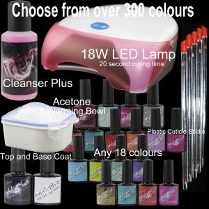 18W LED 20 bottle kit