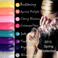 Addictive UV LED Gel Polish Spring Collection 2013