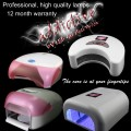 Nail Curing Lamps - LED and UV